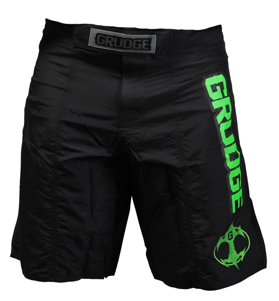 Fight Night Board Shorts - Black/Fluorescent Green