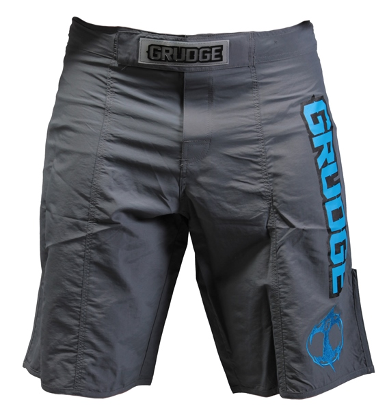 Fight Night Board Shorts - Gray/Blue