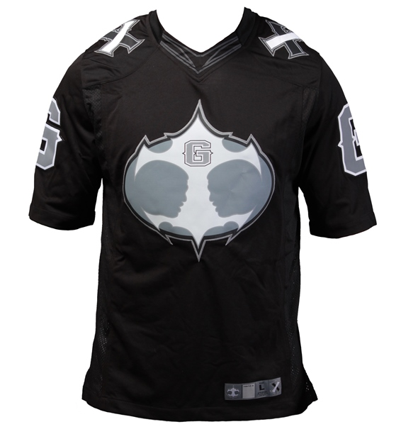 Authentic Fight Night MMA Jersey - Black/Gray
