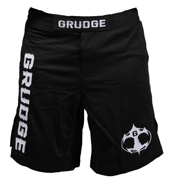 Fight Night Jersey Shorts - Black/White