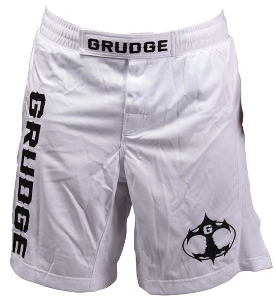 Fight Night Jersey Shorts - White/Black