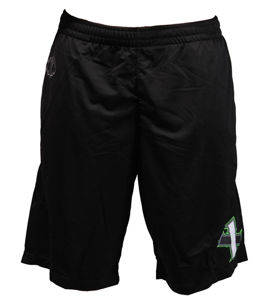 All-Star Authentic Gym Shorts - Black/Green