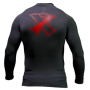 Grudge Rash Guard Black and Red