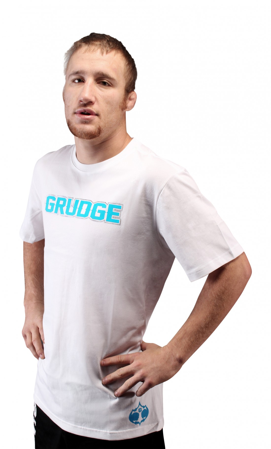 Grudge Performance T White/ Electric Blue