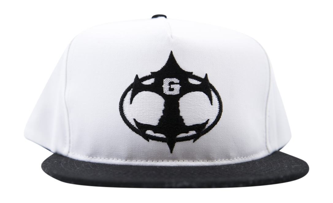 Grudge Signature Hat White/Black